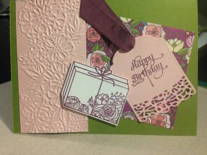 Stampin'Up, Cake Soiree