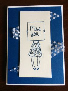Stampin'Up! Hostess set Hand Delivered