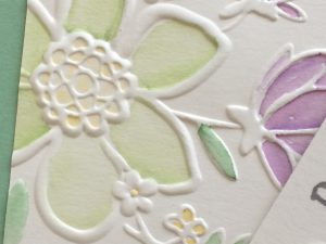Stampin'Up! Lovely Floral Dynamic Textured Embossing foldel