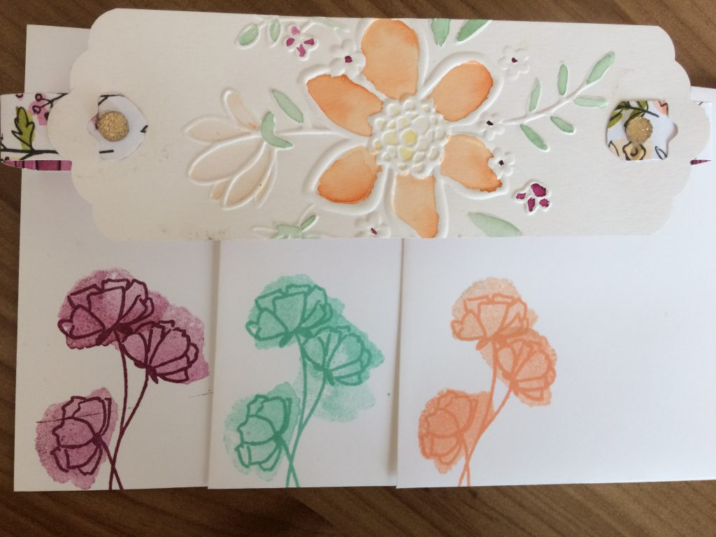 Stampin'Up! Lovely Floral Embossing Folder