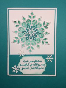 Stampin'Up! Snow is Glistening