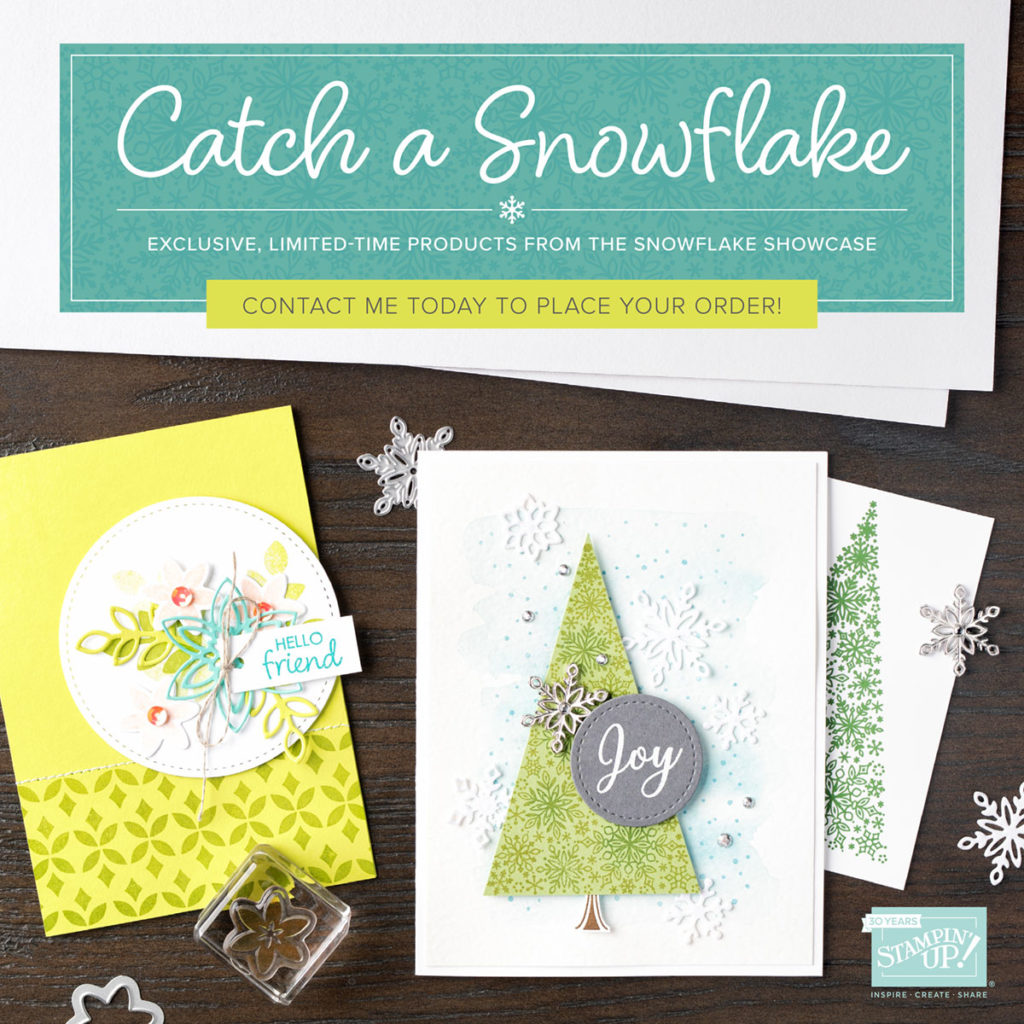 Stampin'Up! Catch a Snowflake