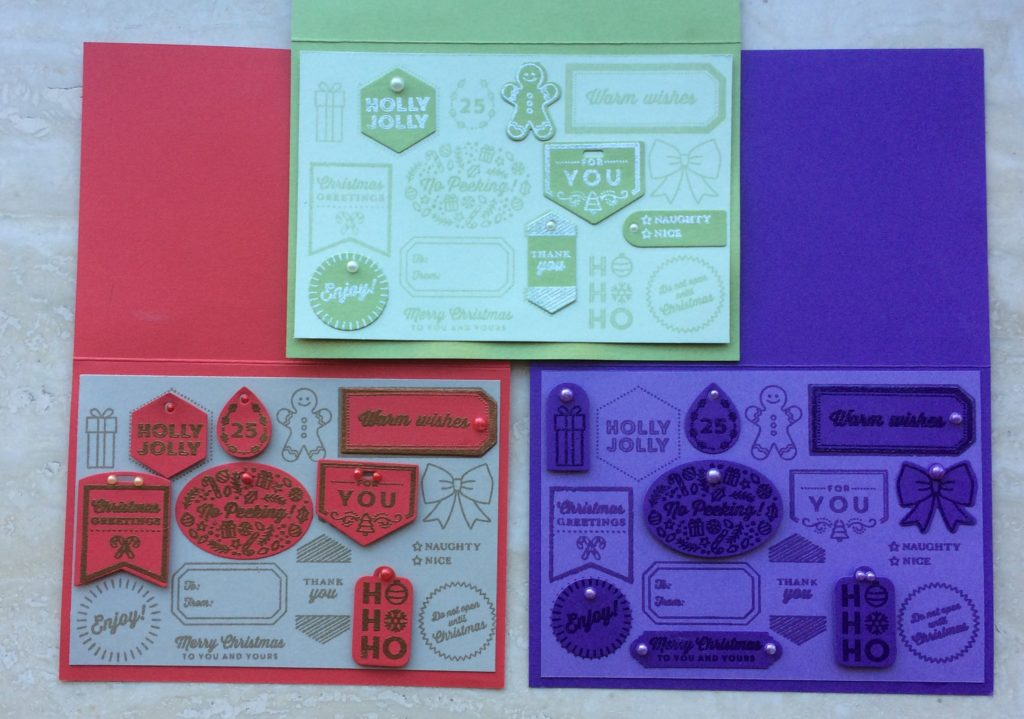 Stampin'Up! Tags&Tidings