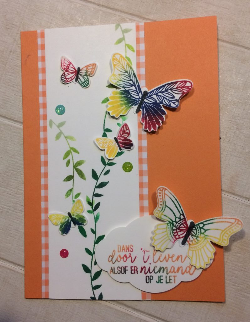 Stampin'Up! Vlinderdans