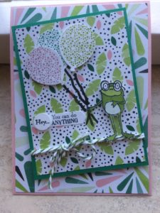 Stampin'Up! So Hoppy together