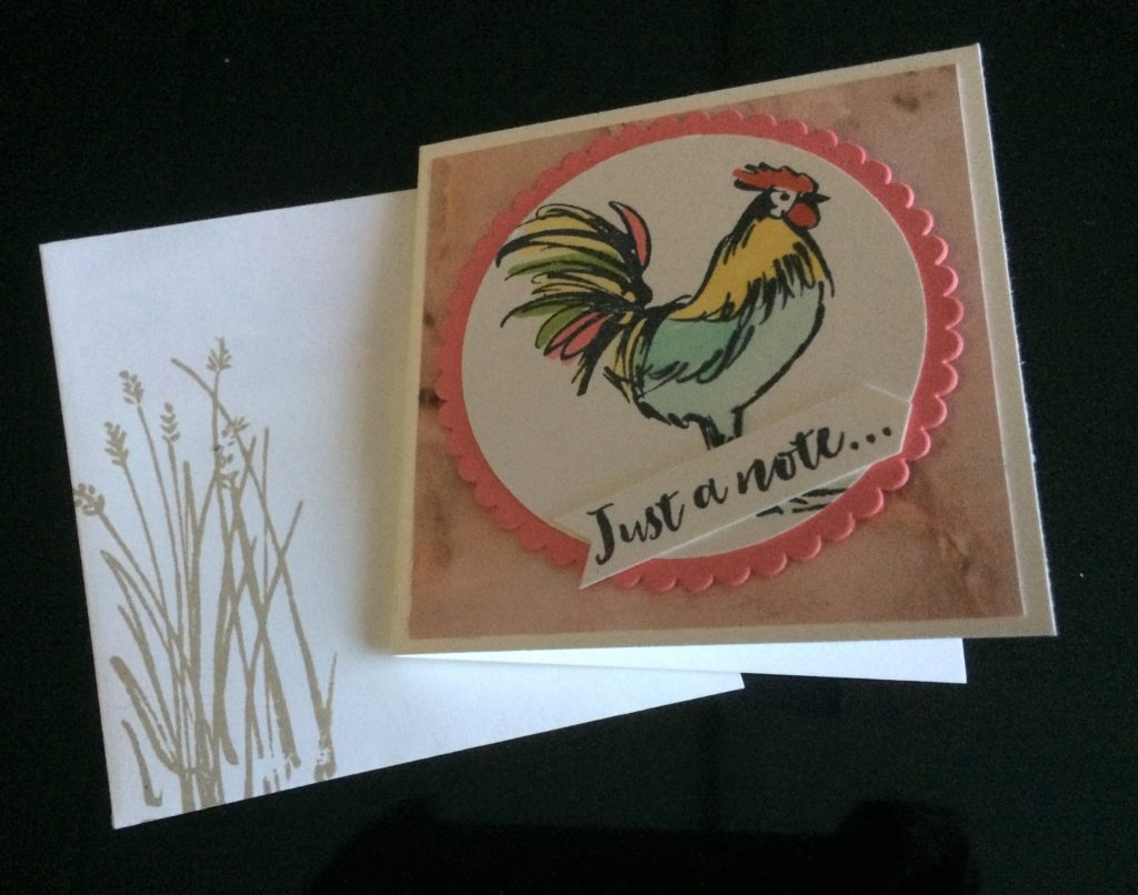 Stampin'Up! Home to Roost