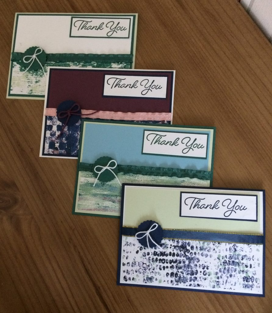 Stampin'Up!Tranquil Textures DSP