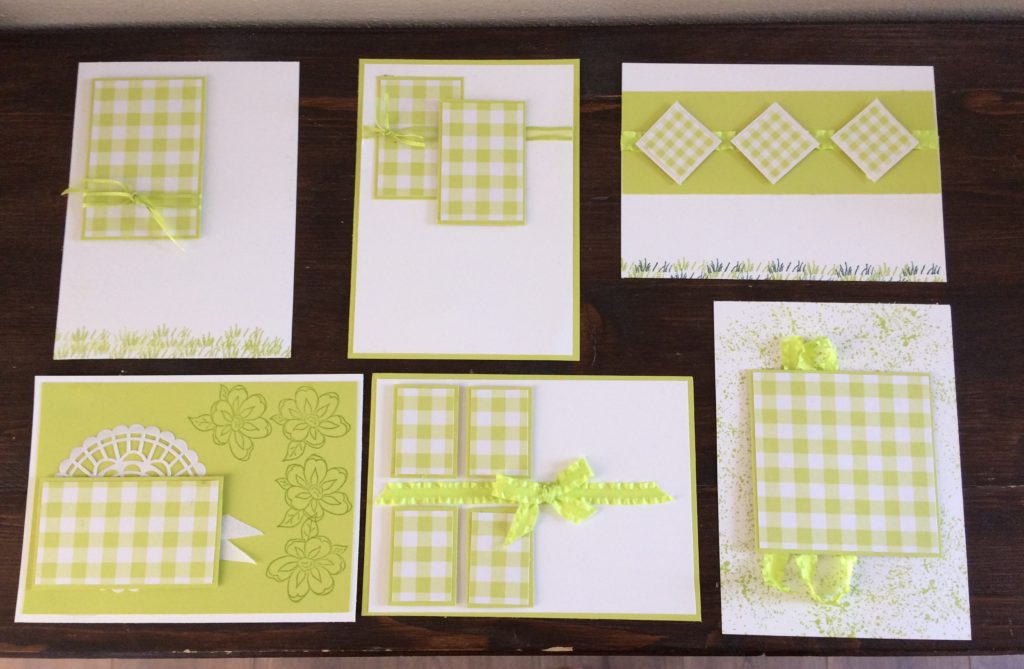 Stampin'Up! Gingham Gala
