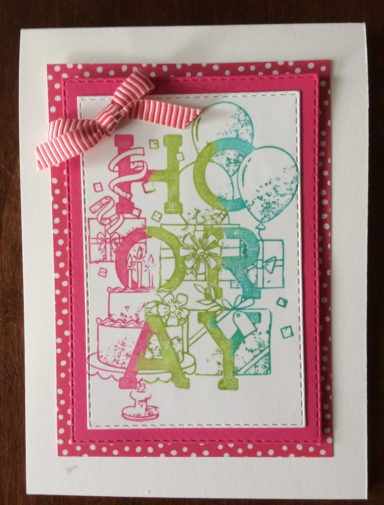 Stampin'Up! Birthday Statement