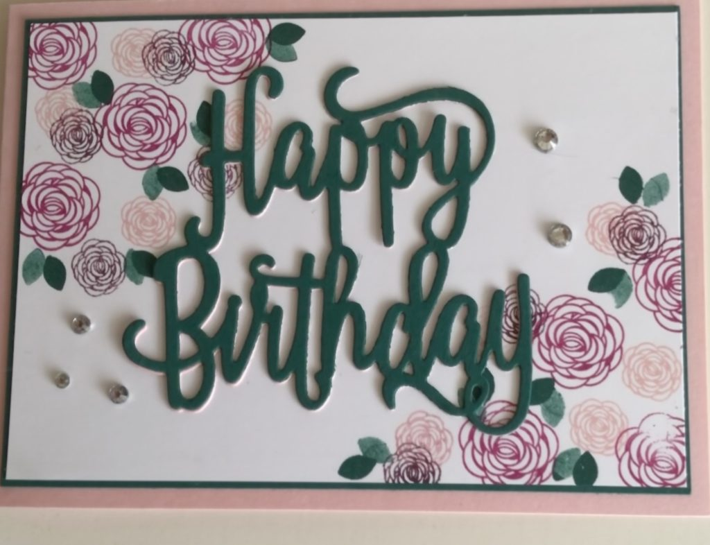 Stampin'Up! Happy Birthday