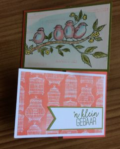 Stampin'Up! Bird Ballad