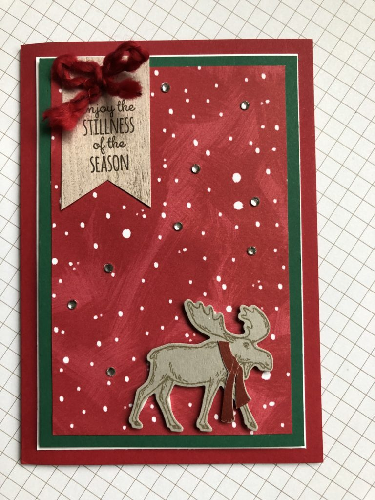 Stampin'Up! Merry Moose
