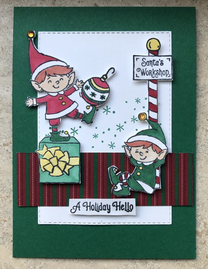 Stampin'Up! Elfie