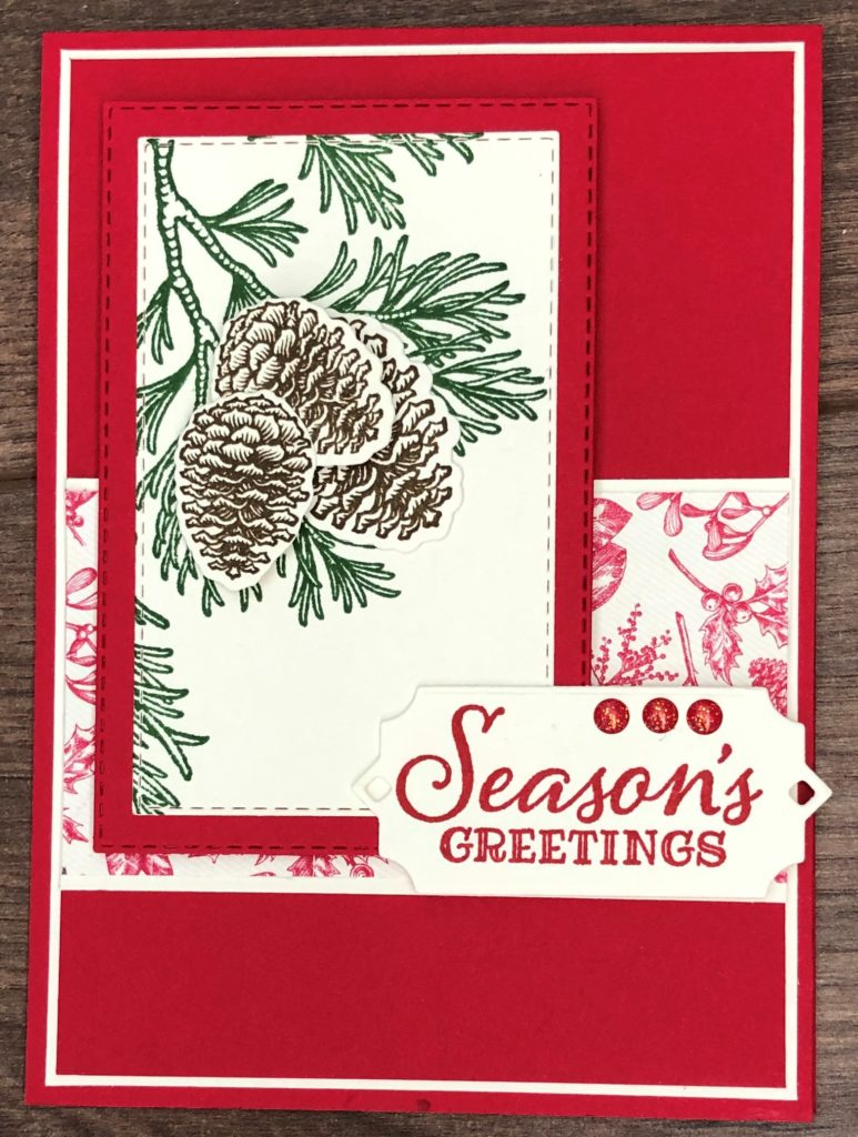 Stampin'Up! Peaceful Boughs