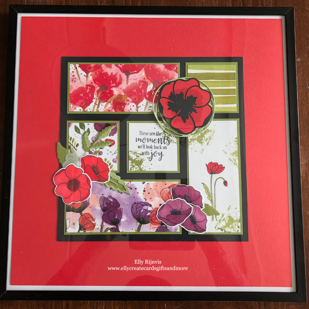 Stampin'Up! Peaceful Poppies