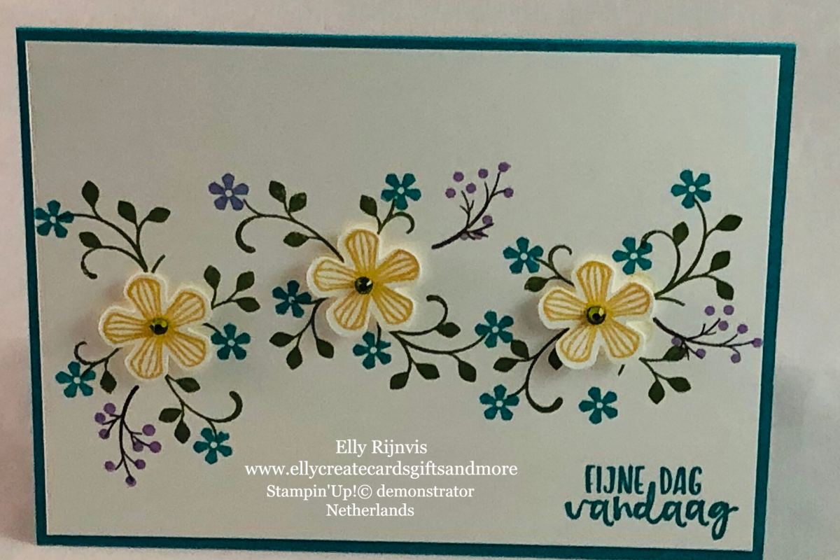 Stampin'Up! Thoughtful Blooms