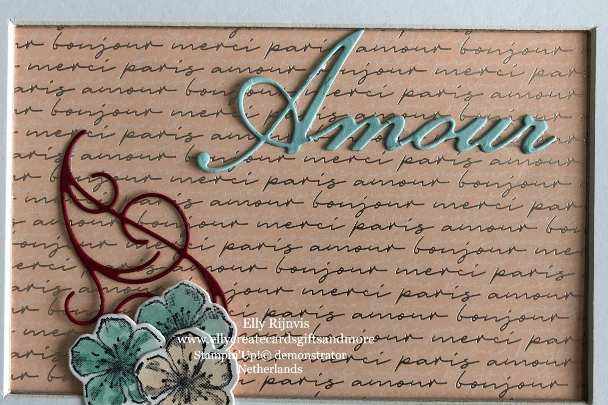 Stampin'Up! Parisian Blossoms