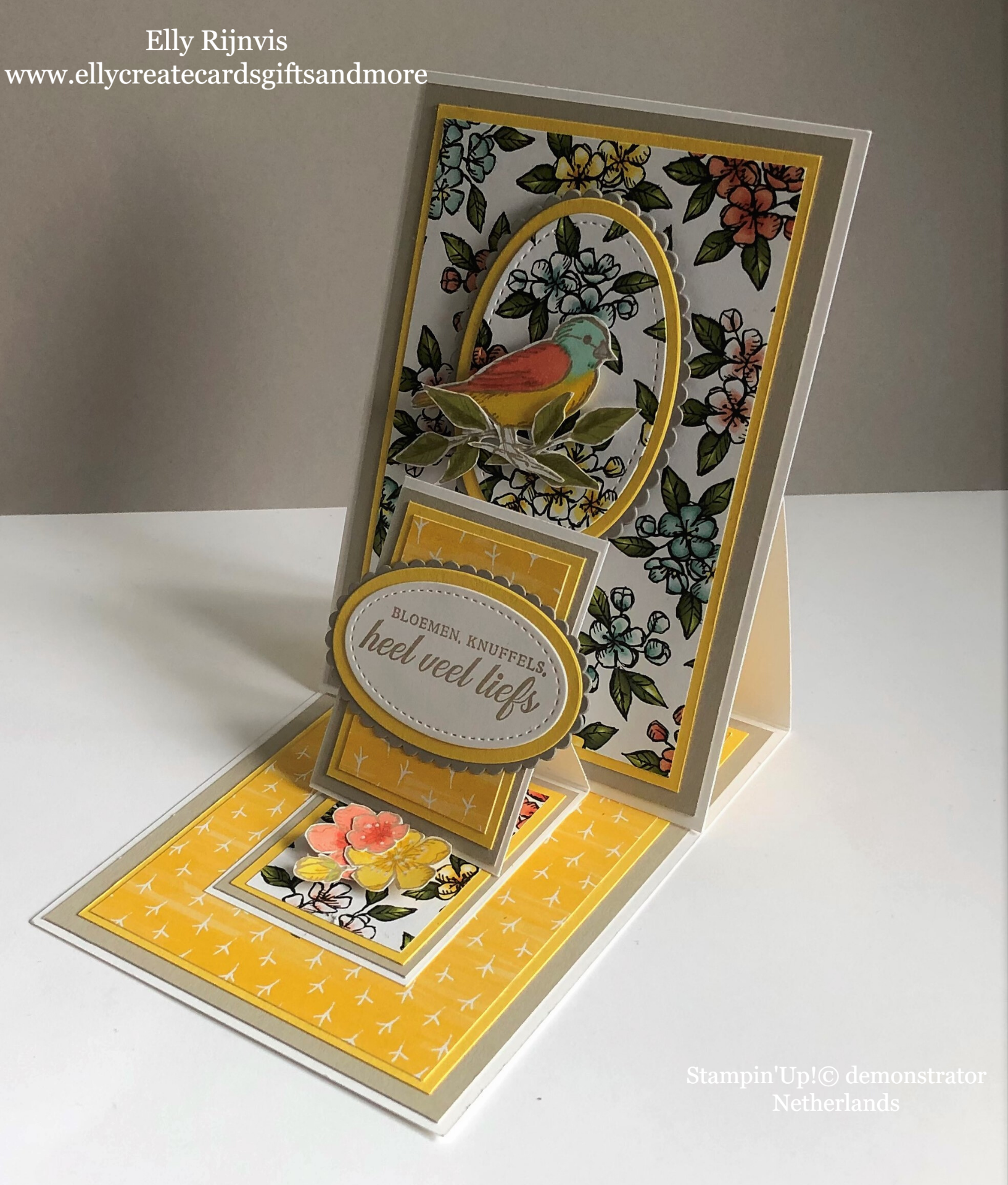 Stampin'Up! Bird Ballad suite