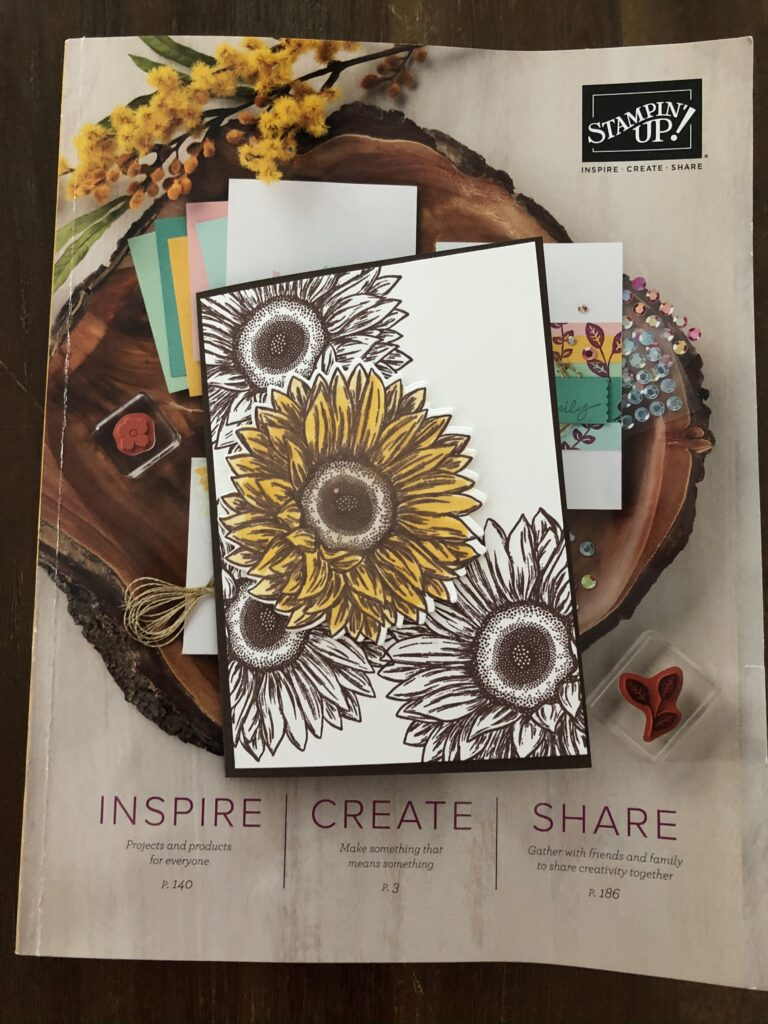 Stampin'Up! Celebrate Sunflowers