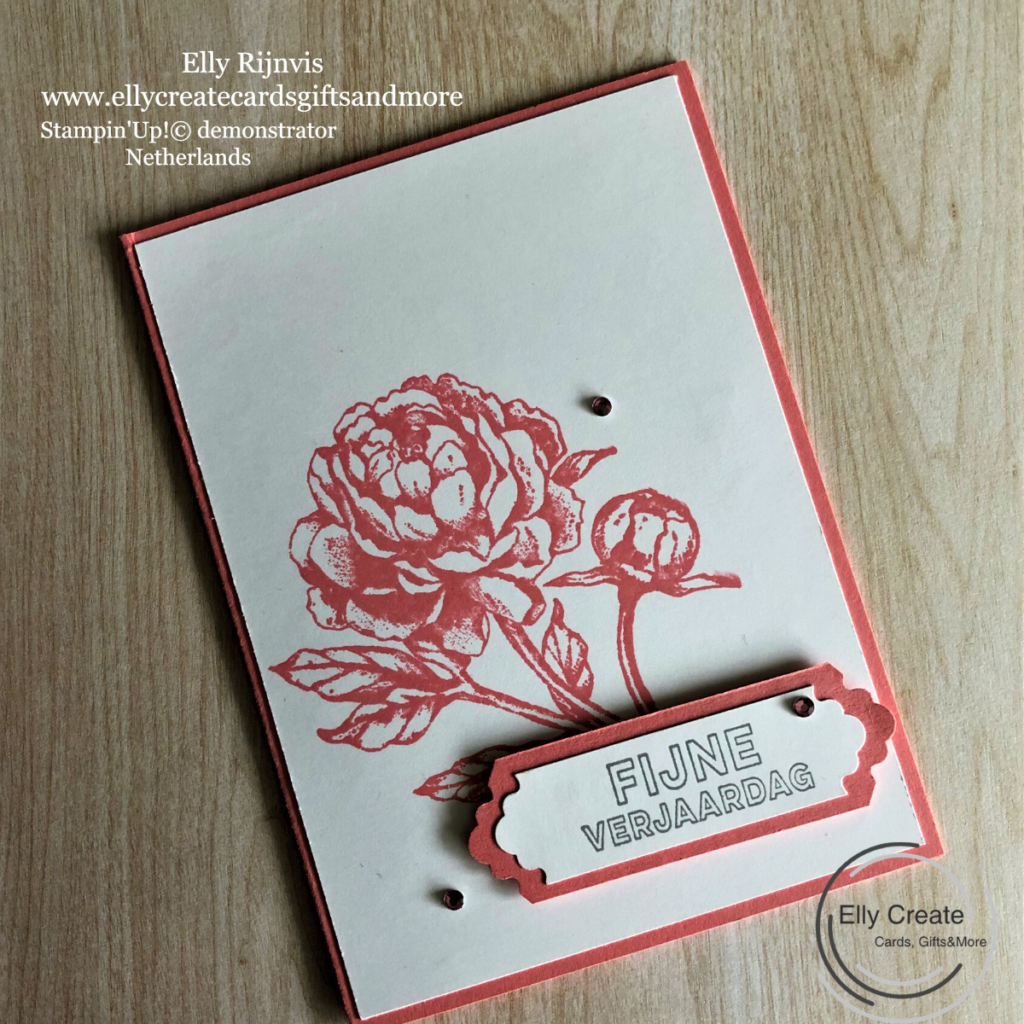 Stampin'Up! Prized Peony