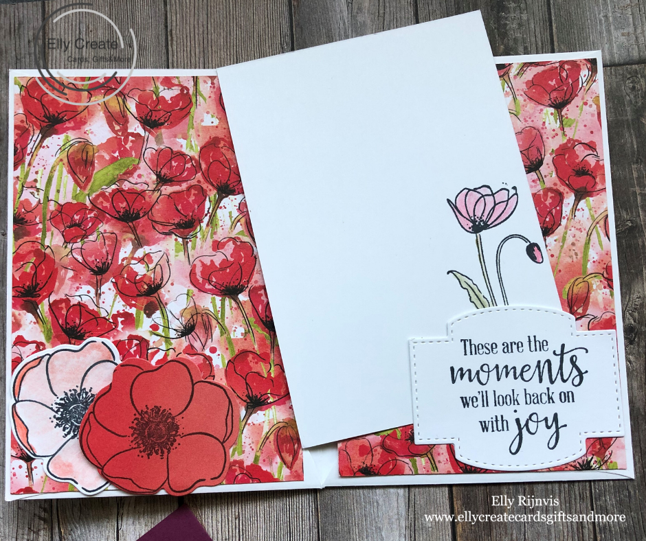 Stampin'Up!Peaceful Poppies