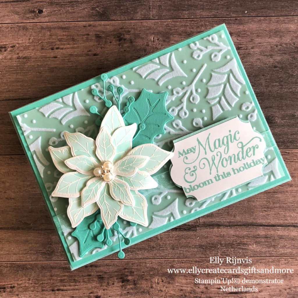 Stampin'Up! Poinsettia Place suite