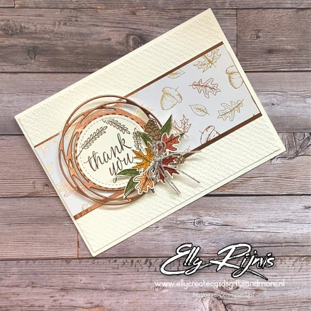 Stampin'Up! Gilded Autumn