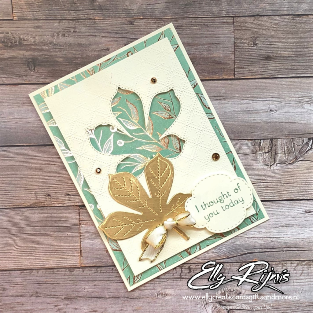 Stampin'Up! Love of Leaves