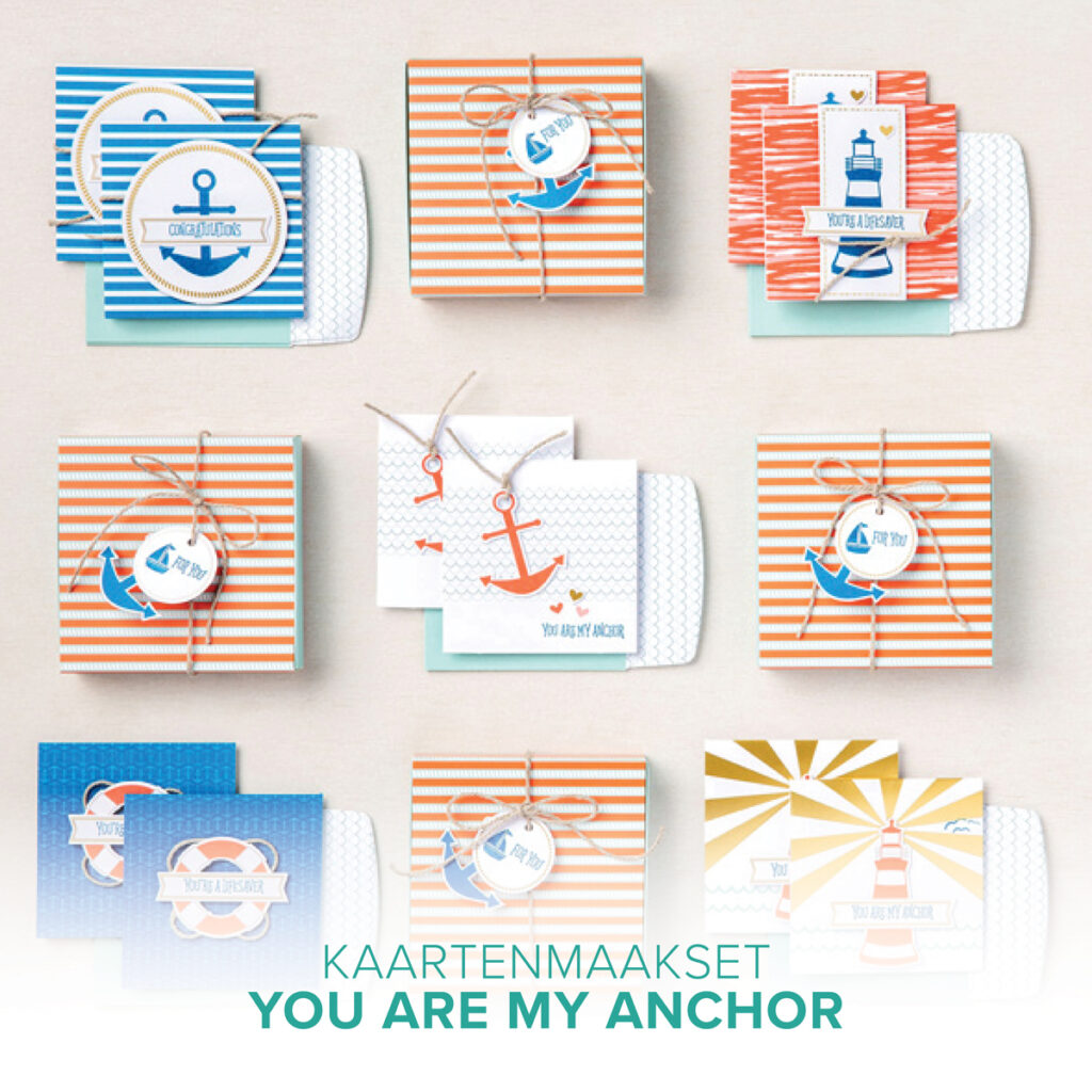 Stampin'Up! You are My Anchor